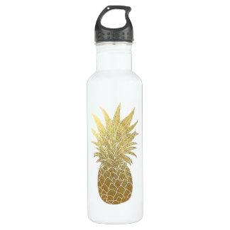 Gold Pineapple Waterbottle 710 Ml Water Bottle