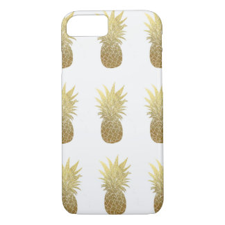 Gold Pineapples Iphone 7 Case