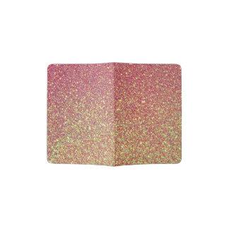 Gold Pink Glitter Texture