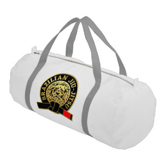 Gold Plated Brazilian Jiu-Jitsu Black Belt Gym Bag