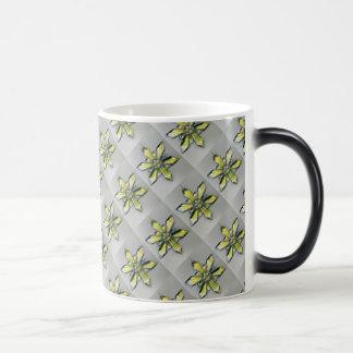 Gold/Platinum Snowflake Ornament Magic Morphing Magic Mug