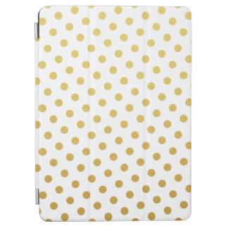 Gold Polka Dot Pattern iPad Air Case