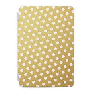 Gold Polka Dot Pattern iPad Mini Case