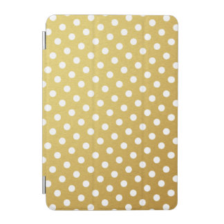 Gold Polka Dot Pattern iPad Mini Case iPad Mini Cover