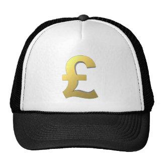 Gold Pound Sign Graphic Trucker Hat