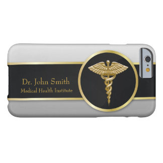 Gold Professional Medical Caduceus - iPhone Case