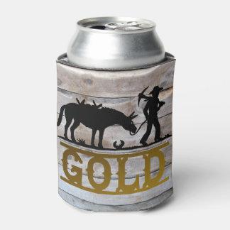 Gold Prospector Can Cooler