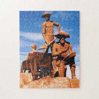 Gold Prospector Photo Designed Color Puzzles