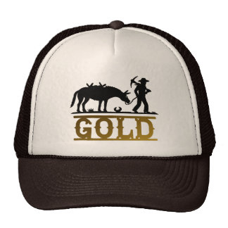 Gold Prospector. Trucker Hat