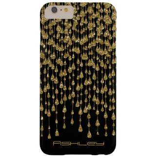 Gold Rain Barely There iPhone 6 Plus Case