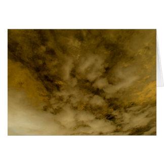 """Gold Rain for Danaë"" Card"