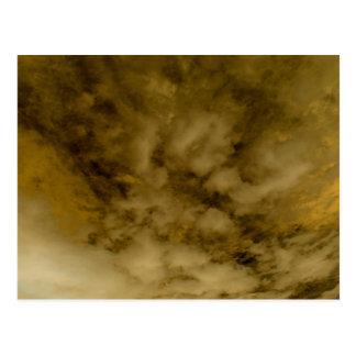 """Gold Rain for Danaë"" Postcard"
