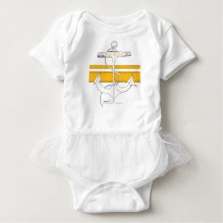 gold rear admiral, tony fernandes baby bodysuit