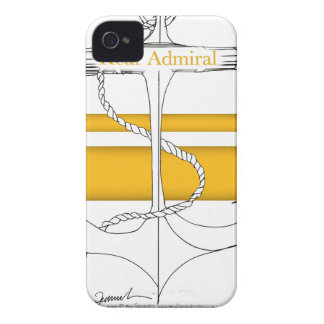 gold rear admiral, tony fernandes iPhone 4 case