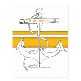 gold rear admiral, tony fernandes postcard