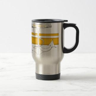 gold rear admiral, tony fernandes travel mug