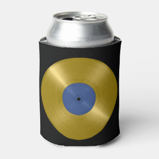Gold Record Album Can Cooler