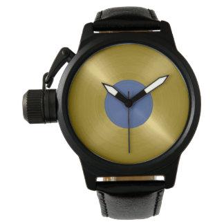 Gold Record Album Wristwatch