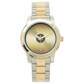 Gold Record Watch