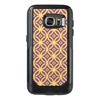 Gold Rings Pattern With Purple Red and Blue OtterBox Samsung Galaxy S7 Case
