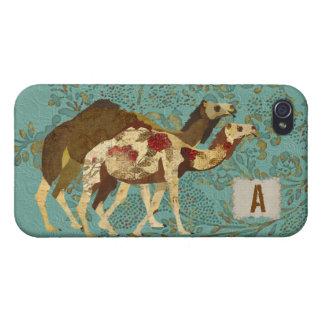 Gold & Rose Camels iPhone Case