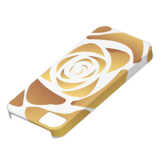 Gold Rose Case iPhone 5 Covers