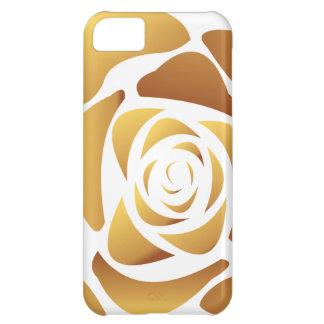 Gold Rose Case iPhone 5C Case