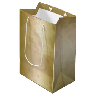 Gold Rose Marble Medium Medium Gift Bag