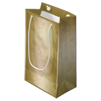 Gold Rose Marble Small Small Gift Bag