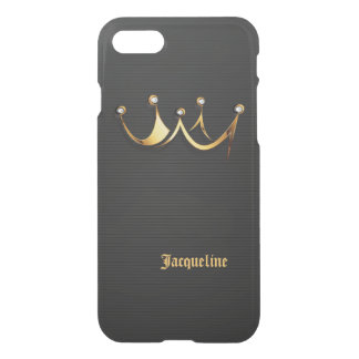 Gold Royal Queen Crown iPhone 7 Case