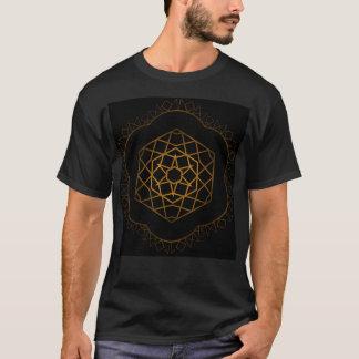 Gold Runic Hexagon T-Shirt