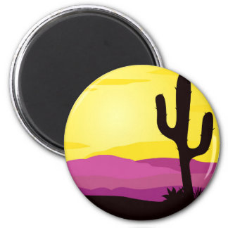 Gold rush : Mexicana gold Sunset II 2 Inch Round Magnet