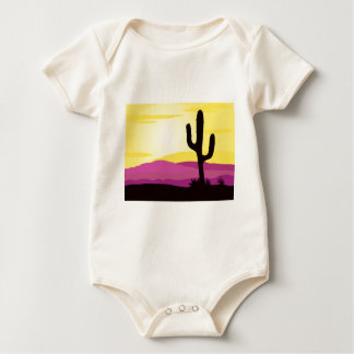 Gold rush : Mexicana gold Sunset II Baby Bodysuit