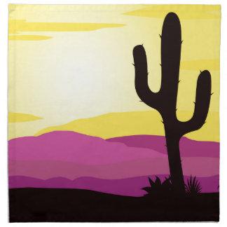 Gold rush : Mexicana gold Sunset II Cloth Napkin