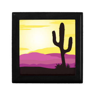 Gold rush : Mexicana gold Sunset II Trinket Boxes