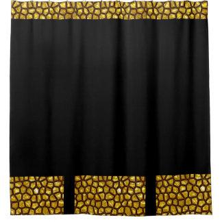 Gold Rush Shower Curtain