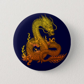 Gold ryuu 2 inch round button