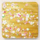 Gold Sakura Kimono Coaster