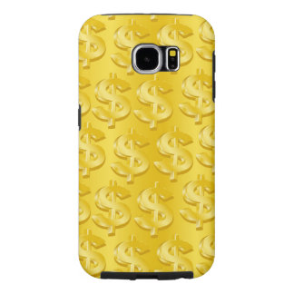 $ Gold $ Samsung Galaxy S6 Cases