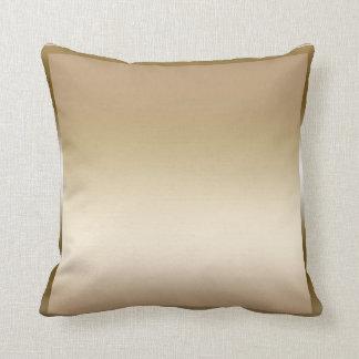 Gold Sateen Satin Shine Modern Glamour Glam Throw Pillow