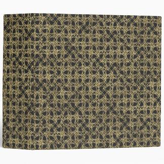 Gold Scratch Golden Modern Glamour Unique Elegant Vinyl Binders