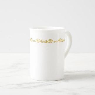 Gold Scroll Work Specialty Mug