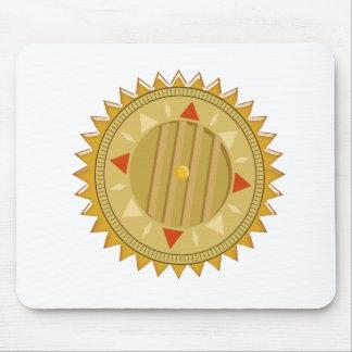 Gold SEAL : Sun CHAKRA Compass Mouse Pad