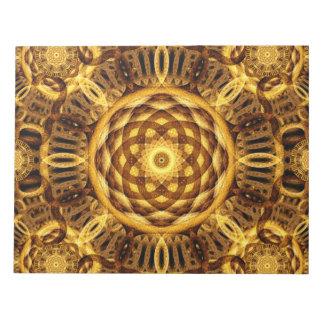Gold Seam Mandala Notepads