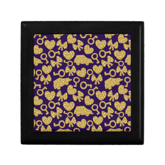 gold seamless pattern 3 .1 gift box