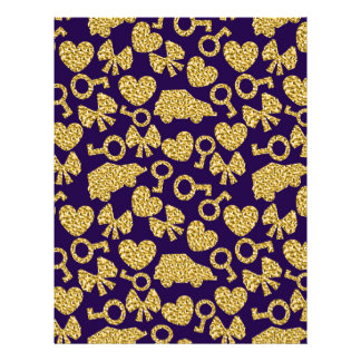 gold seamless pattern 3 .1 letterhead