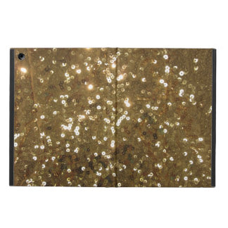 Gold Sequin Pattern iPad Air Case