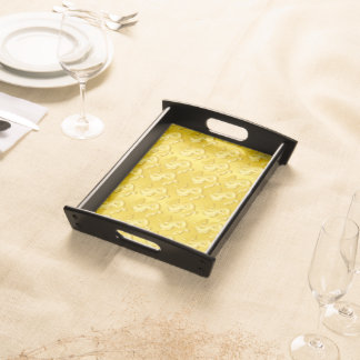 $ Gold $ Serving Tray