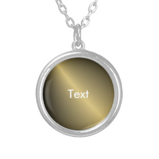 Gold Shaded Silver Plated Necklace