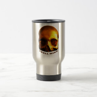Gold Skull Mind Stainless Steel Mug